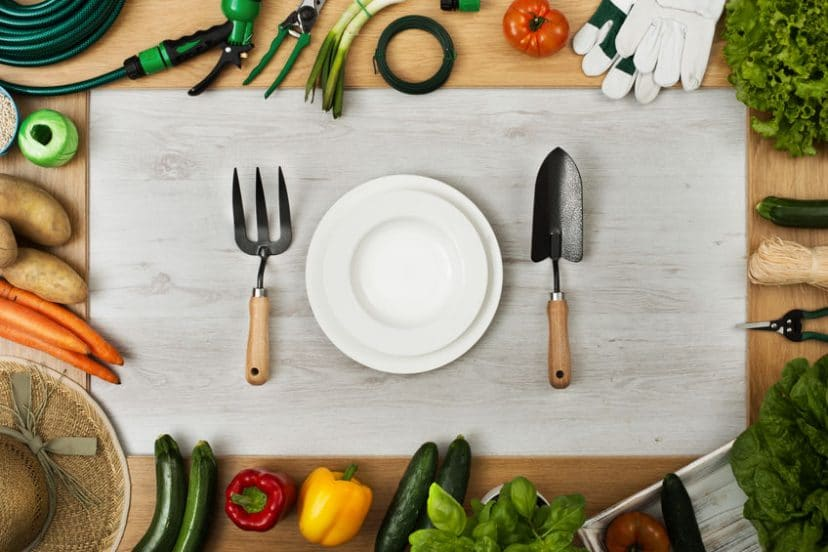Healthy Eating And Homegrown Food