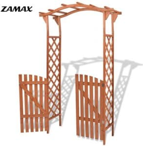 2 in 1 Wood Garden Arbor Arch by ZAMAX