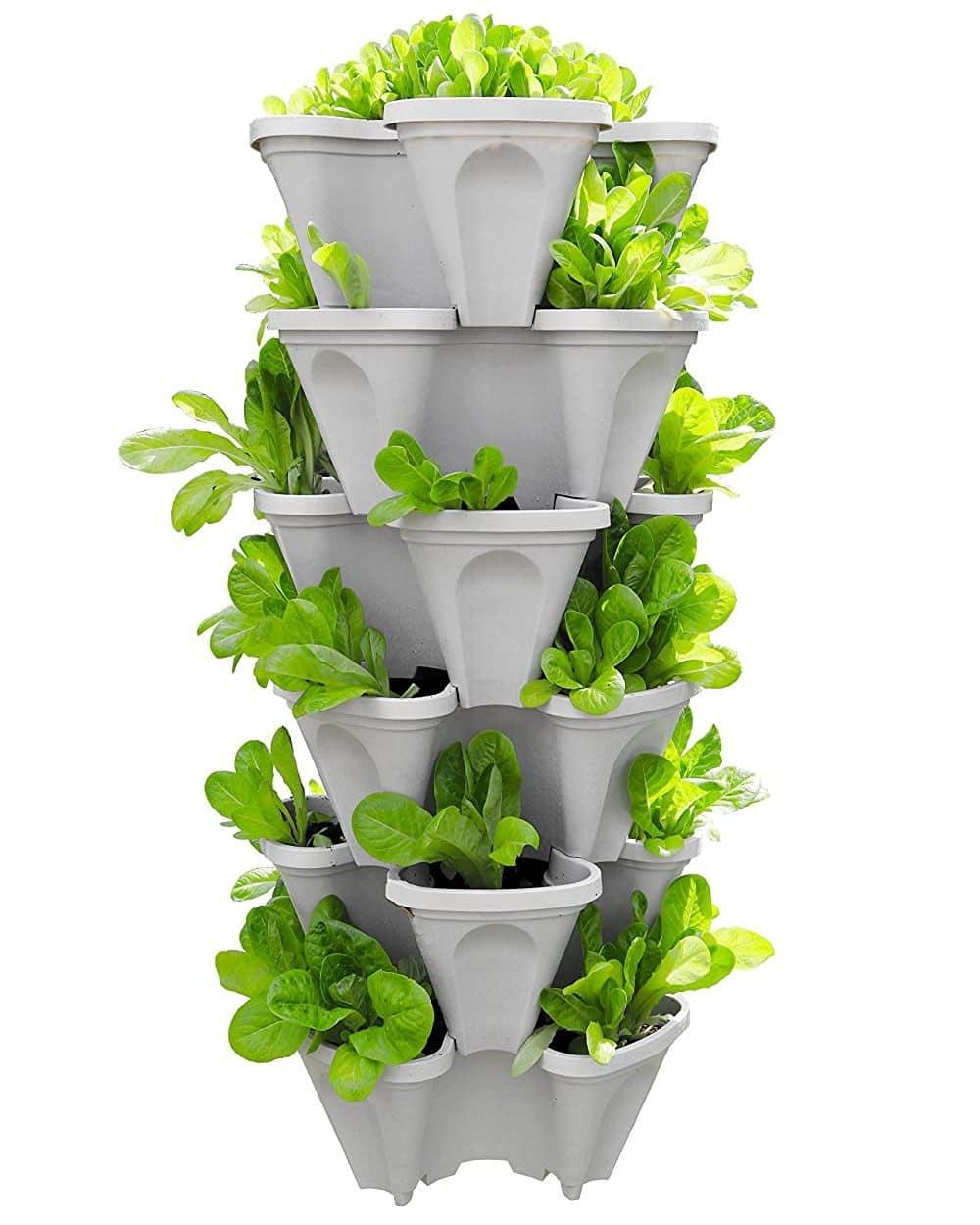 5 tier garden planter