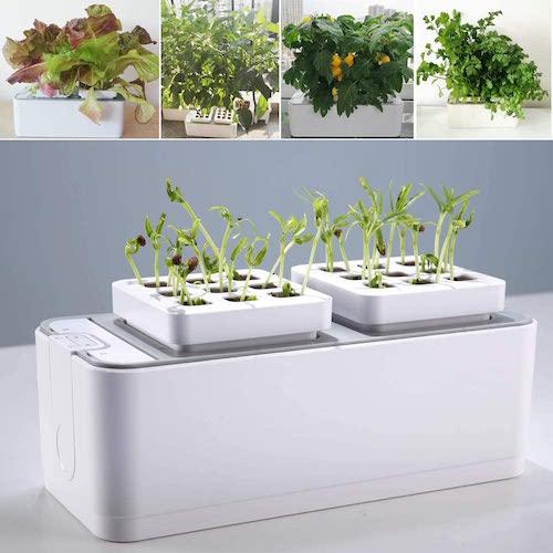 e supergrow smart indoor herb garden hydroponics