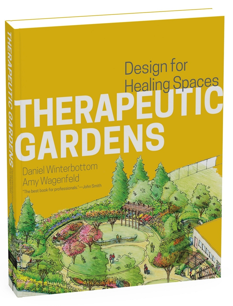 therapeutic gardens book