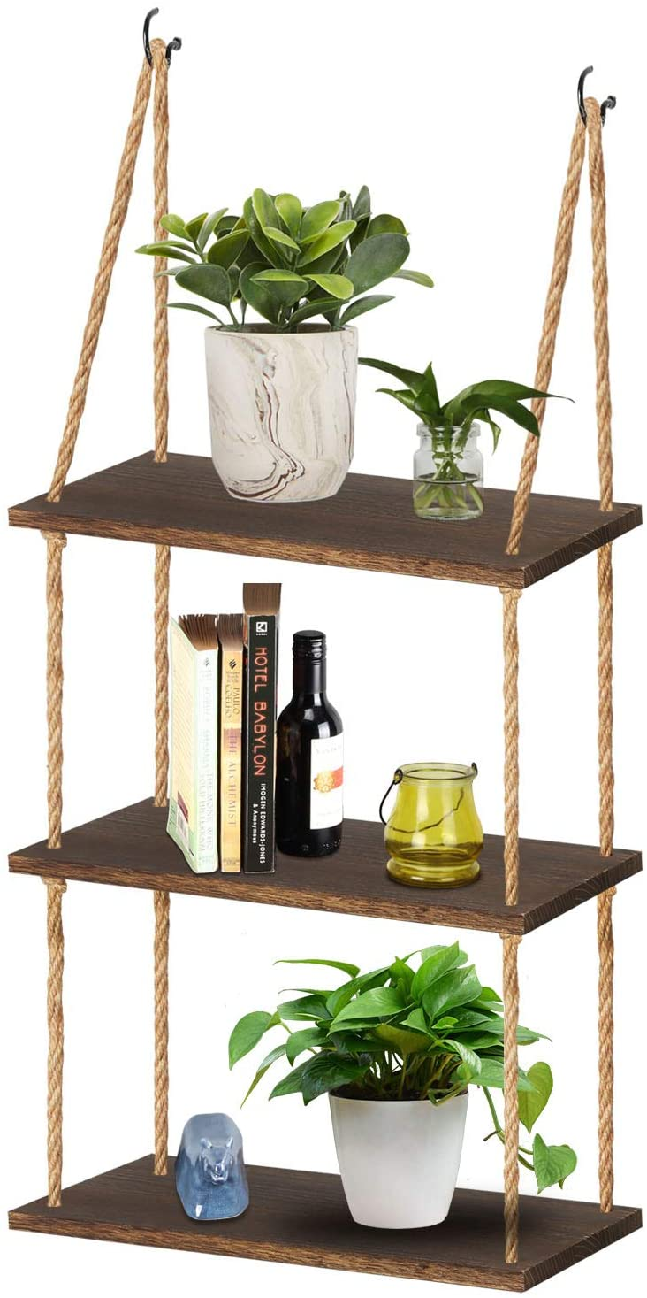 tj moree wall hanging plant shelves