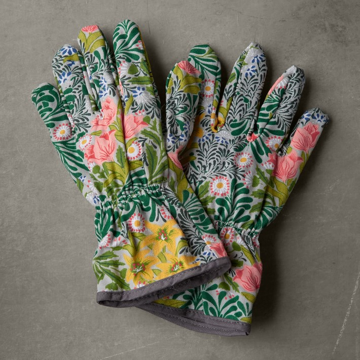 Williams Sonoma Floral Gardening Gloves