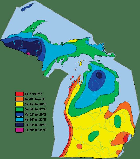 gardening zone map