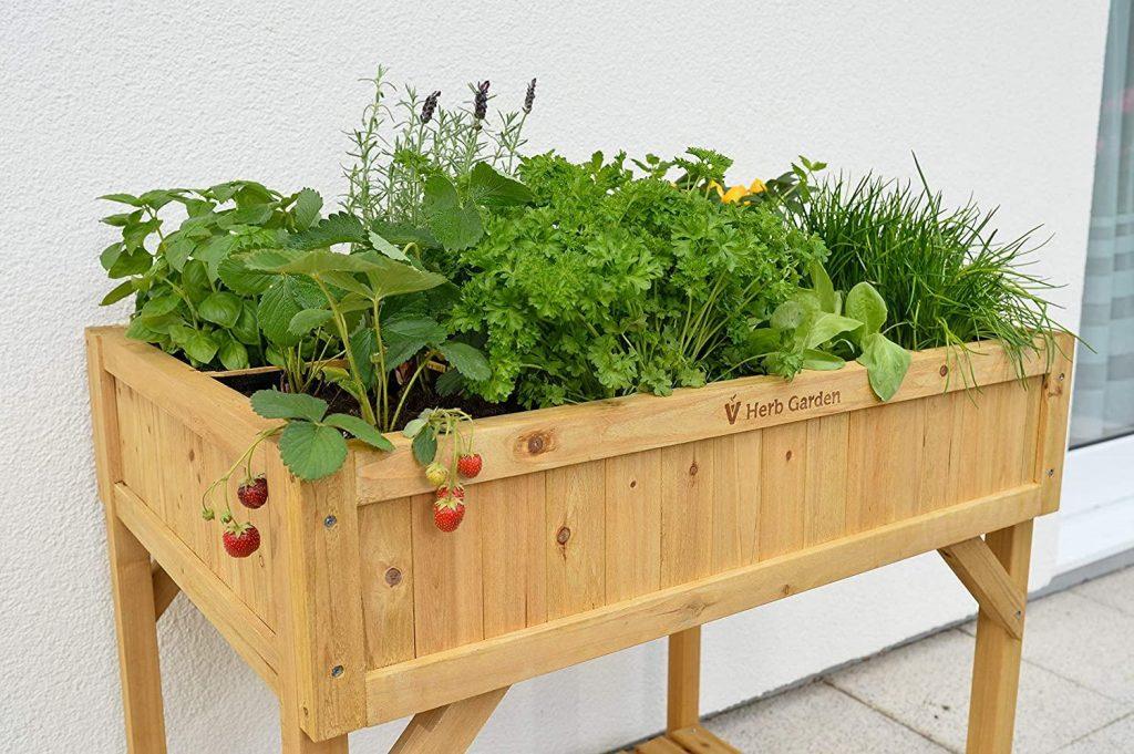 pocket herb garden