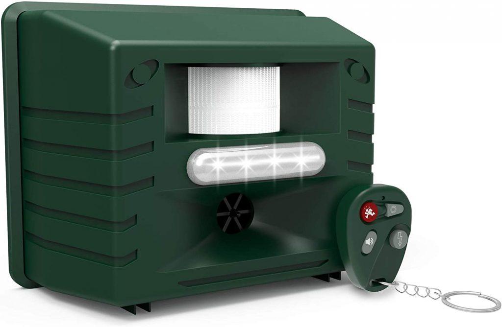 ASPECTEK Ultrasonic Outdoor Animal Pest Repellent