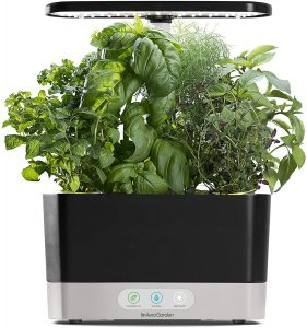 AeroGarden Black Harvest Indoor Hydroponic Garden