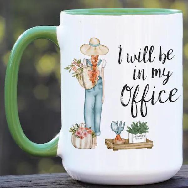 Gardener's Office Mug